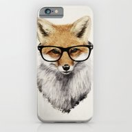 iPhone & iPod Case featuring Mr. Fox by Isaiah K. Stephens