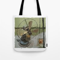 old antique fan Tote Bag