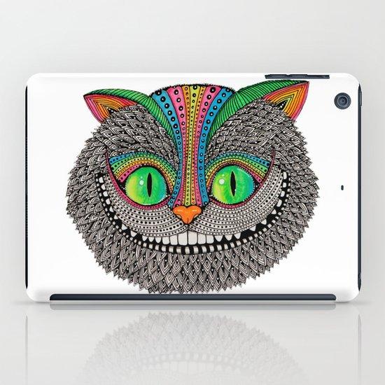 Alice´s cheshire cat by Luna Portnoi iPad Case