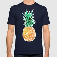 Pineapple Mens Fitted Tee Navy SMALL