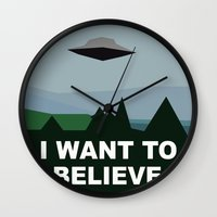 I Want To Believe Minima… Wall Clock