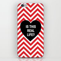 Is this real life? iPhone & iPod Skin