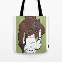 Chewbacca E Stormtrooper Tote Bag