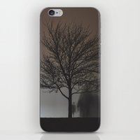 Behind the Tree iPhone & iPod Skin