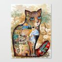Cat of Israel Canvas Print