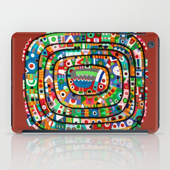 Planet of all good people iPad Case