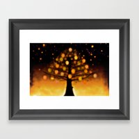 TREE OF KNOWLEDGE - 224 Framed Art Print