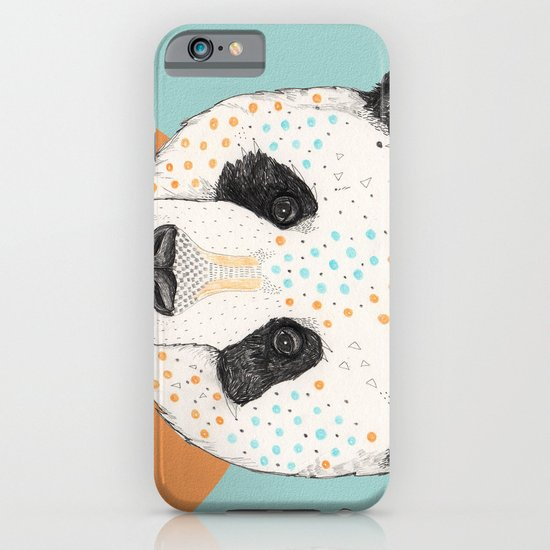 Polkadot Panda iPhone & iPod Case