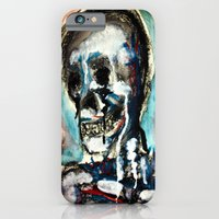 iPhone & iPod Case featuring Smile by Skeletal Noir