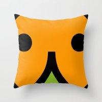 Face 7 Throw Pillow