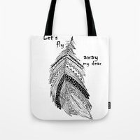 Let's fly away Tote Bag
