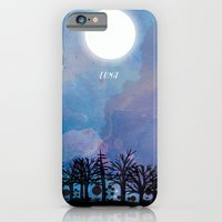 iPhone & iPod Case featuring Luna by Jo Cheung Illustration