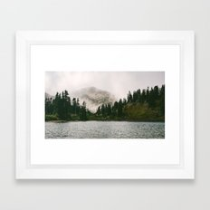 Landscape #photography #fog Framed Art Print