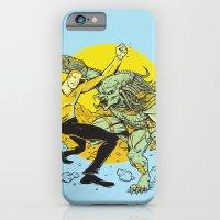 iPhone & iPod Case featuring BattleKirk Predactica by Brian Walline
