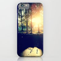 iPhone & iPod Case featuring Backyard Sunset by Lindsey