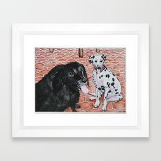 Yin and Yang Framed Art Print