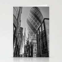 London Gherkin, London Stationery Cards