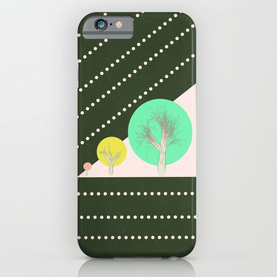 In my world forests are geometric iPhone & iPod Case