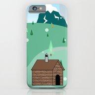 Mountain Christmas iPhone 6 Slim Case