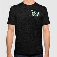 The Epic Climb Mens Fitted Tee Tri-Black SMALL