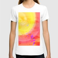 Fly High Womens Fitted Tee White SMALL