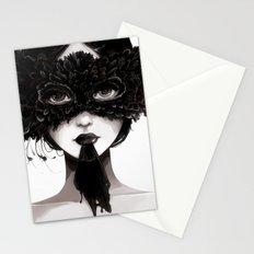 La veuve affamee Stationery Cards
