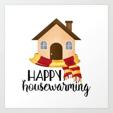 Happy Housewarming Art Print