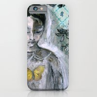 Vintage Book Cover Girl iPhone 6 Slim Case