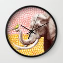 New Friends 2 by Eric Fan and Garima Dhawan Wall Clock