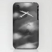 iPhone 3Gs & iPhone 3G Cases featuring flight II by daniel shervheim