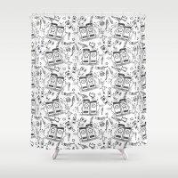 Mento/Ska/Rocksteady 8 Shower Curtain