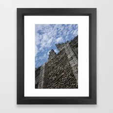 Stairs in the Sky Framed Art Print
