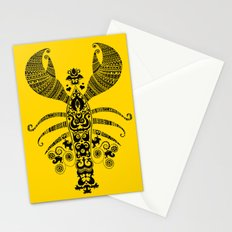17th Century Lobster Stationery Cards