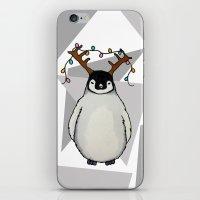 Penguin Christmas iPhone & iPod Skin