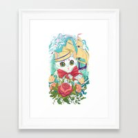 Sailor Kitty Framed Art Print