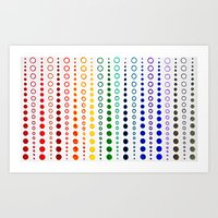 Dots Art Print