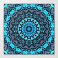 Mandala Time Canvas Print