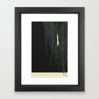 Withering Willows.Part I… Framed Art Print