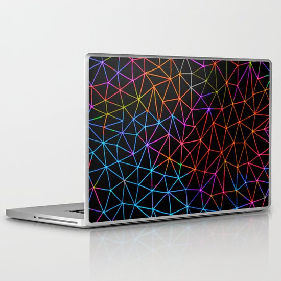 Geometric Glow Laptop & iPad Skin