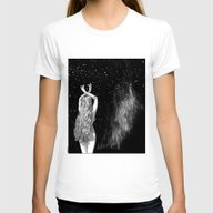 Apollonia Saintclair 604… Womens Fitted Tee White LARGE