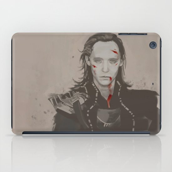Nothing but the war. iPad Case