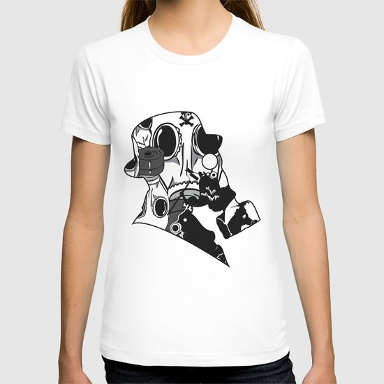 My Dexterous Shadow  B&W 1 of 4 T-shirt