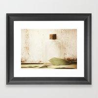 Tea Leaf Framed Art Print