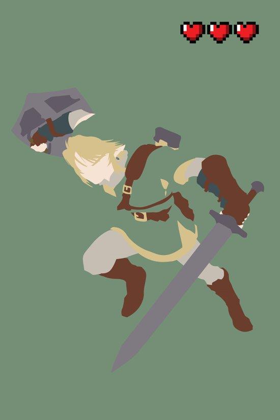 The Legend of Zelda - Link Art Print
