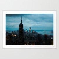 Skyline New York Art Print