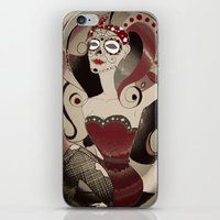 Pinup - Red iPhone & iPod Skin