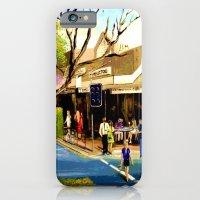 Sidewalk Cafe iPhone 6 Slim Case
