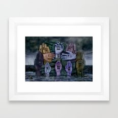 Another World 6  Framed Art Print