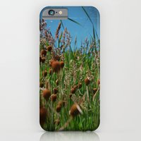 Lying in the Grass iPhone 6 Slim Case