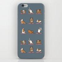 English Bulldog Yoga iPhone & iPod Skin